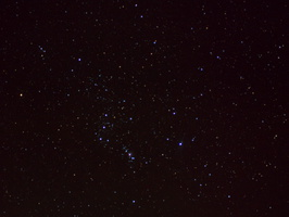 Constellation Orion from airplane