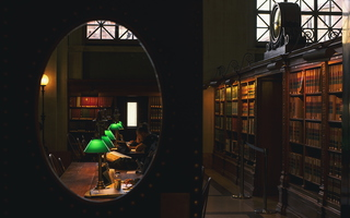 Boston Public Library Reading Room 01