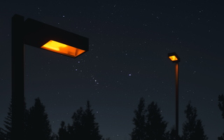 Ornage Streetlight Orion Rising 01