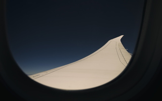 Boeing Dreamliner 787-9 Wing Flex