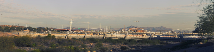 Tempe Town Lake Dam Bridges East 6k