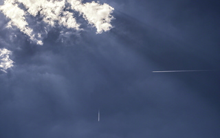 Sky Clouds Planes 90 degrees contrail vector 1 d