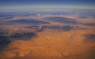 Southwest Desert from plane Planet Earth