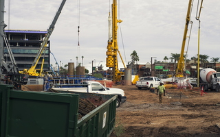Tempe December Construction Blount Cranes Drill Mardian Concrete Worker
