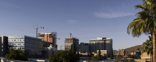 Downtown Tempe ASU Construction Camelback A-mountain January 2020 6k